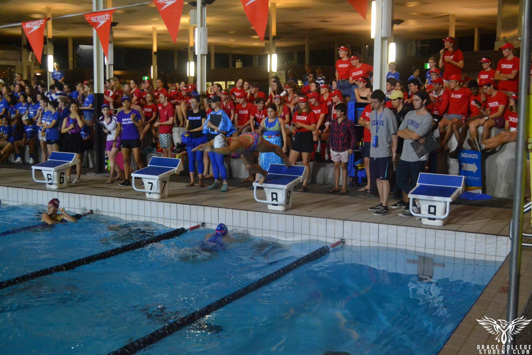 Swimming Carnival competitors
