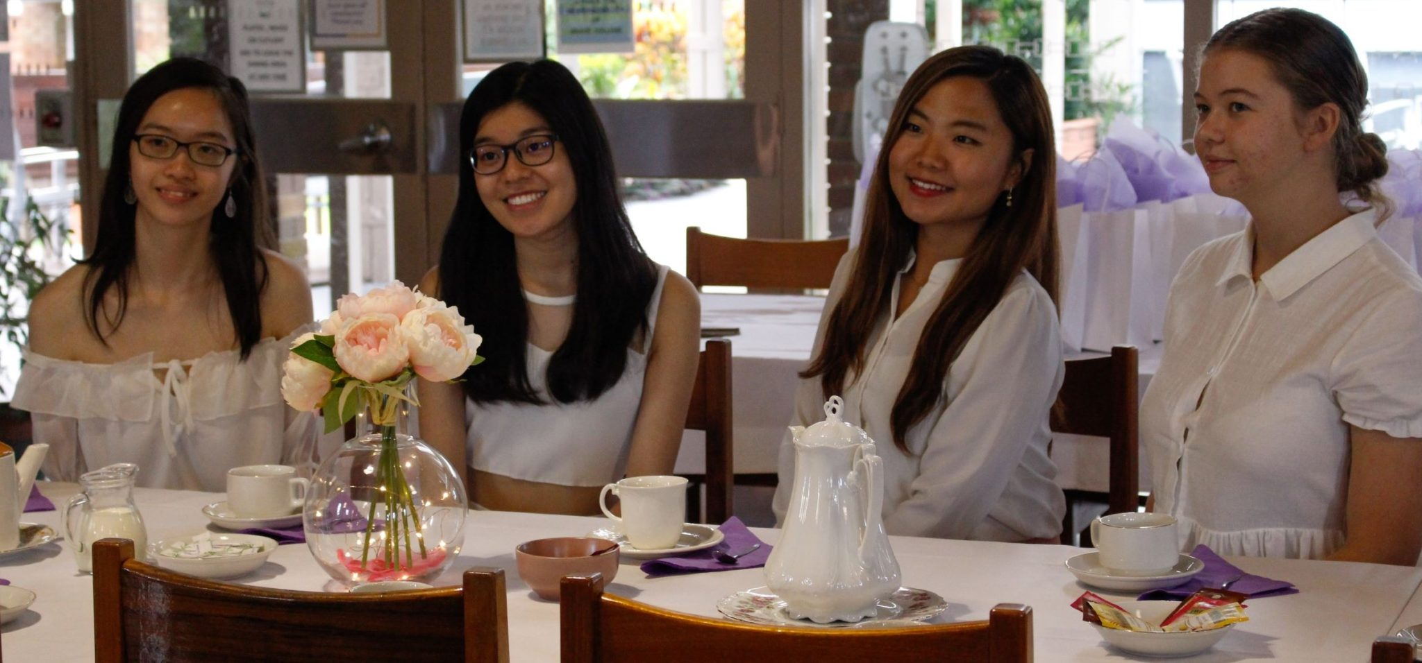 Grace College residents at Alumnae High Tea 2019