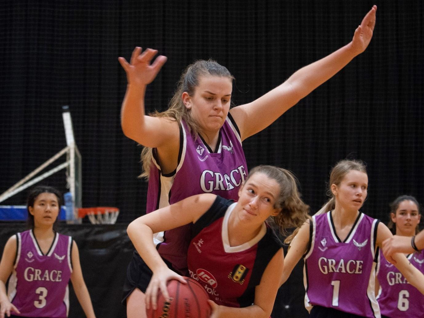 Spirited defence at basketball