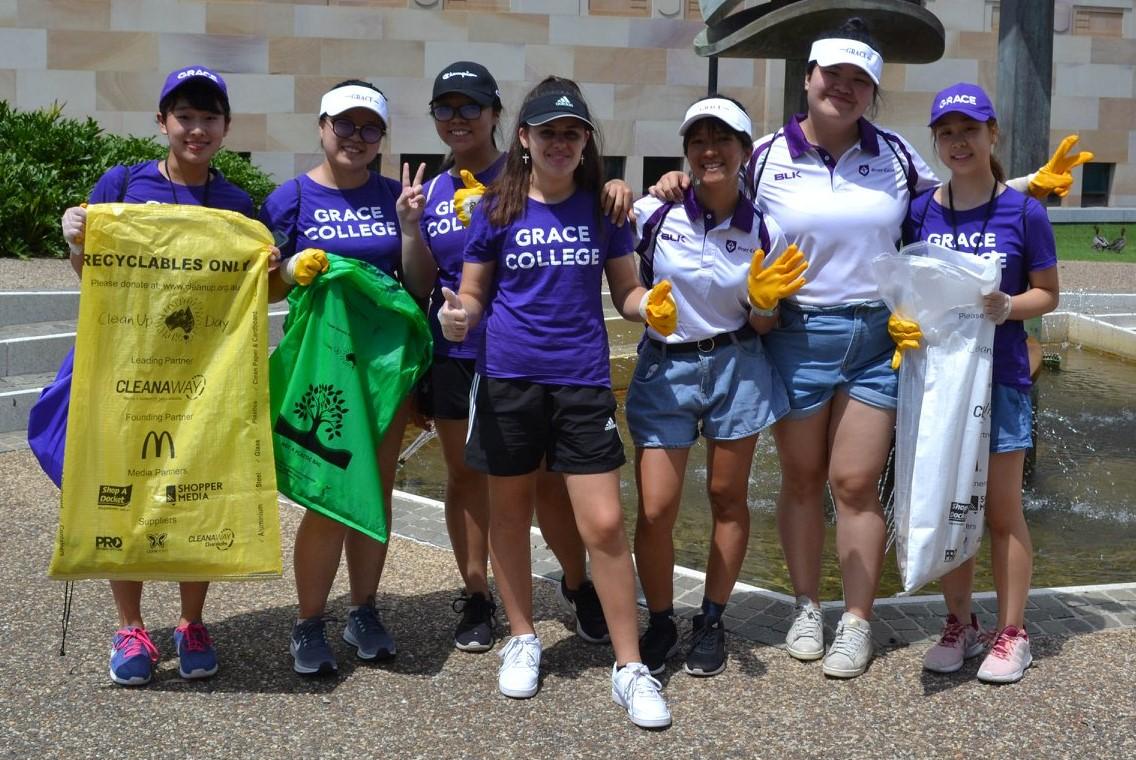 Clean-Up Australia Day crew