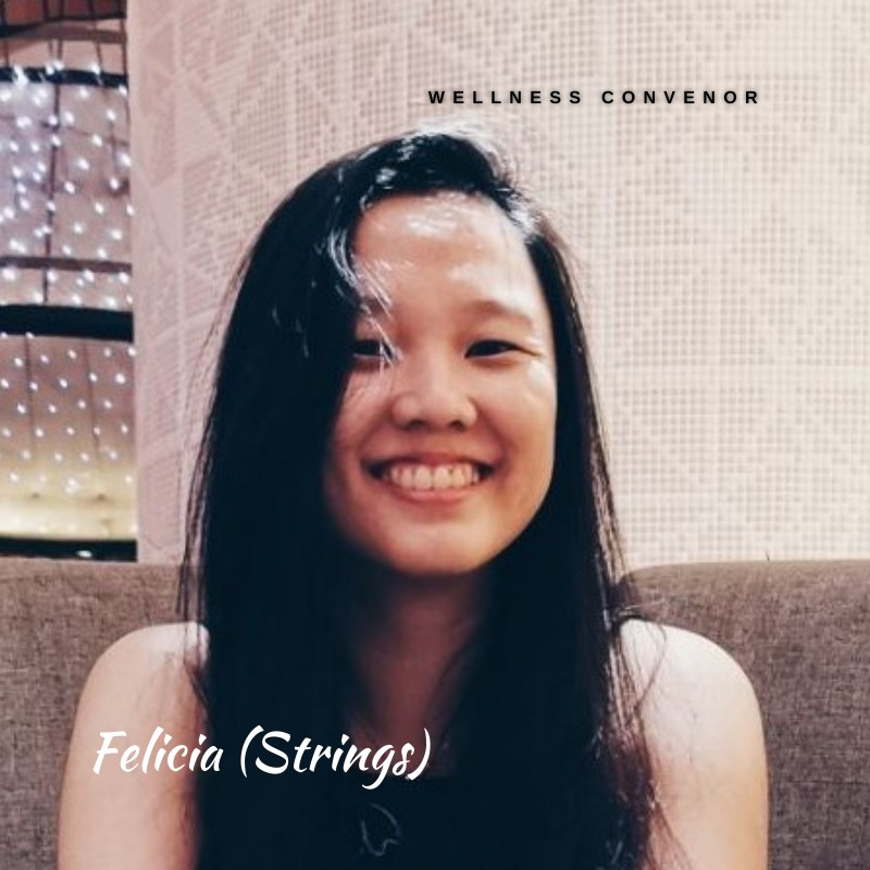 Felicia Ang (Strings), Wellness Convenor
