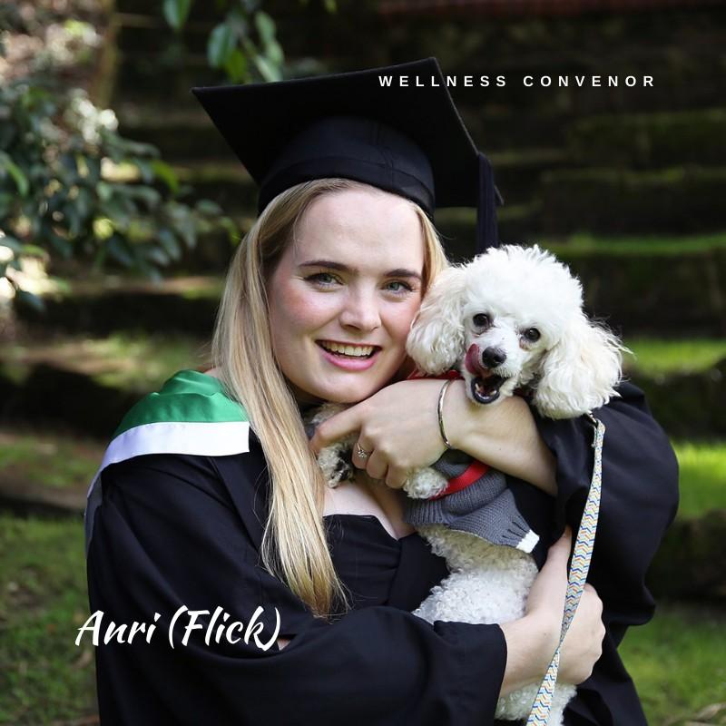 Anri Barnard (Flick), Wellness Convenor
