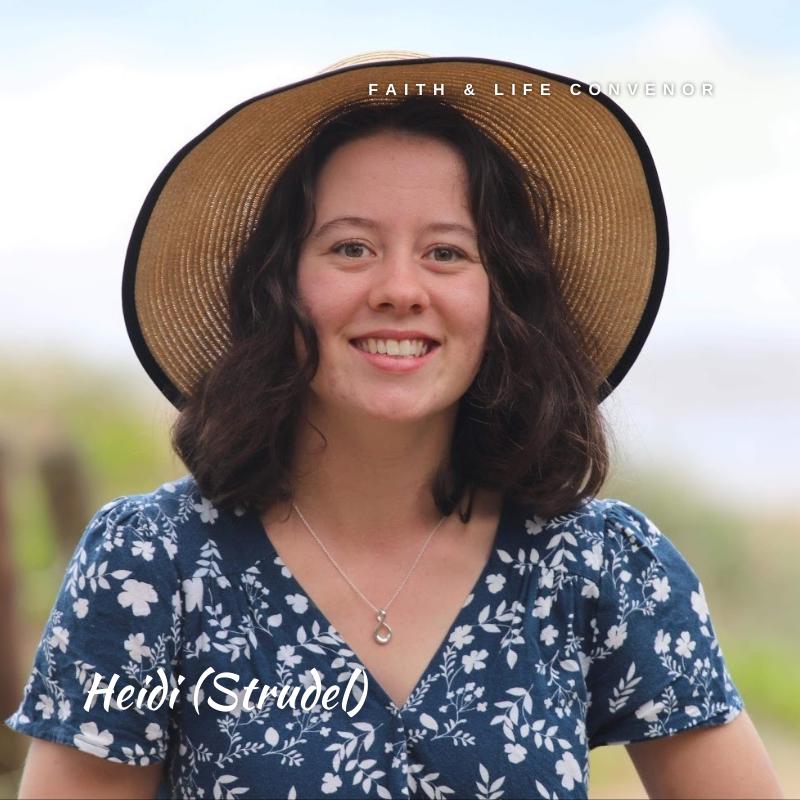 Heidi McCormick, Faith & Life Convenor