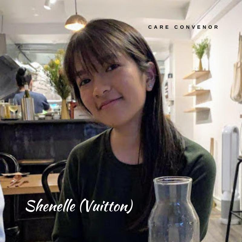 Shenelle Goh, Student Club Care Convenor