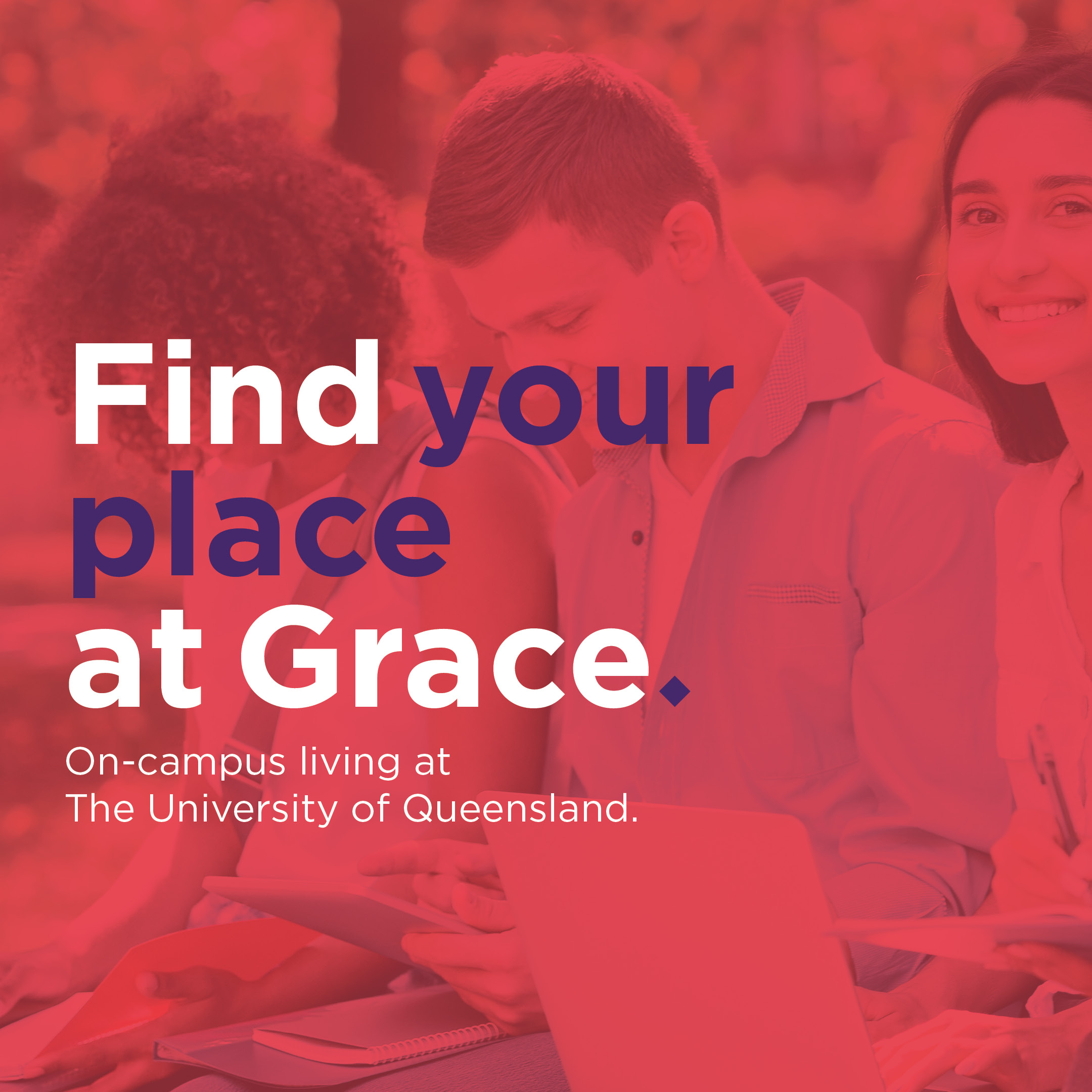 Find your place at Grace